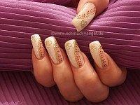 Pearl glitter design