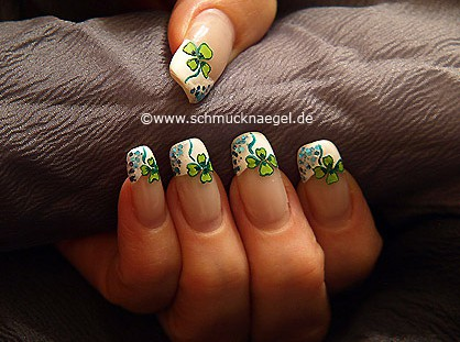 Four-leaf clover for the New Year