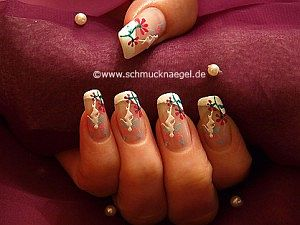 Fairy fingernail sticker and nail lacquer