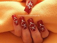 Beauty nail art for fingernails