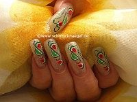 Frutas de fimo para decorar las uñas