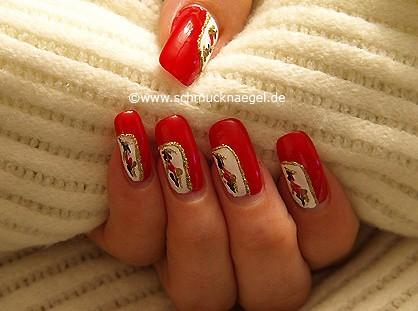 Decoración con esmalte y nail art pens