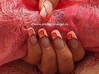Decoración de uñas con fruta de fimo