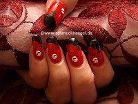 Halloween cementerio para decoración de uñas