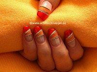 Hojas secas para decoración de uñas