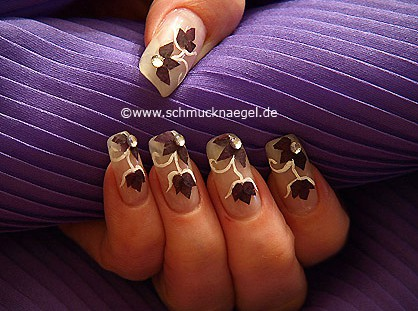 Pétalos de flores secas para decoración de uñas