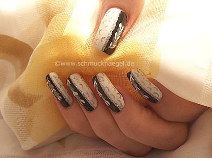 Diseño negro y blanco