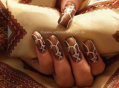 Cobertura en marrón