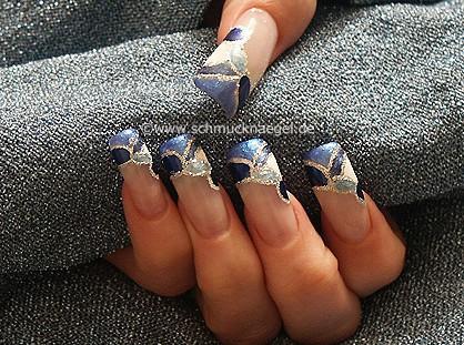 Instrucción estética uñas francesas