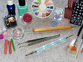 Accesorios para decorar las uñas