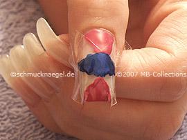 Nailart Pen in der Farbe dunkelblau
