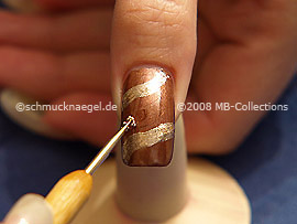 Nailart Bouillons in silber