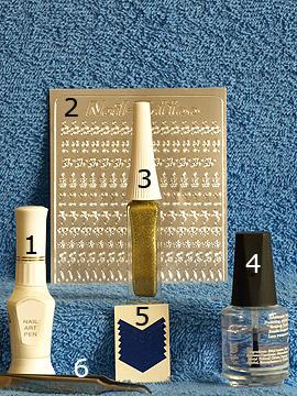 Produkte für das Nailart mit French Maniküre Schablonen - Nagellack, Nailart Pen, Nail-Tattoos, Nailart Liner, French Maniküre Schablonen, Klarlack