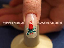 Weihnachtsmotiv 8 - Nailart Motiv 148