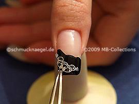 Nailart Sticker und Pinzette