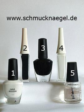 Produkte für das Motiv 'Dekoration der Nägel mit Nagellacken' - Nagellack, Nailart Liner