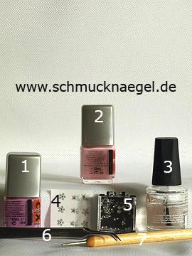 Produkte für das motiv mit Strasssteine und Nailart Sticker - Nagellack, Nail Sticker, Strasssteine, Spot-Swirl