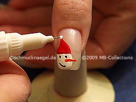 Nail art pen in der Farbe weiß
