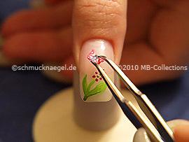Fimo Schmetterling und Pinzette