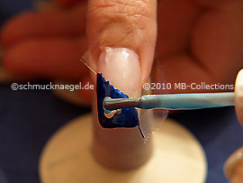 Nailart Pen in der Farbe hellblau