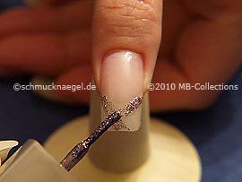 Nagellack multi-glitter