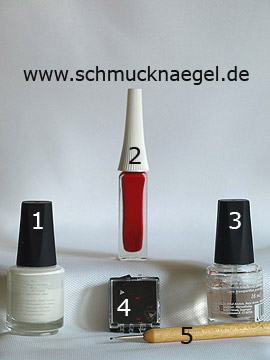 Produkte für das Motiv 'Dreieckiger Strassstein für ein Fingernagel Design' - Nagellack, Nailart Liner, Spot-Swirl, Strasssteine