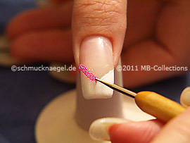 Mikroperlen und den Spot-Swirl