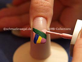 Nagellacke in verschiedenen Farben
