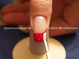 Crackling Nagellack in der Farbe weiß