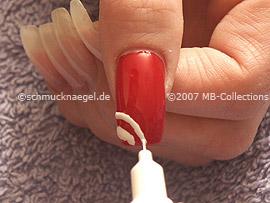 Nailart Pen in der Farbe weiß