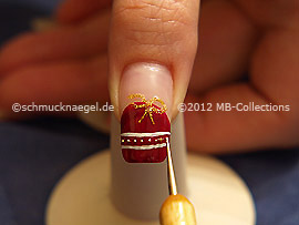 Nailart Bouillons in gold
