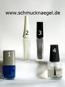 Produkte für das Motiv 'Turnschuh als Fingernagel Dekoration' - Nagellack, Nailart Liner