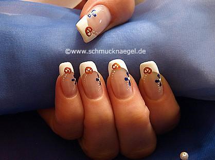 Oktoberfest Motiv als Fingernagel Design