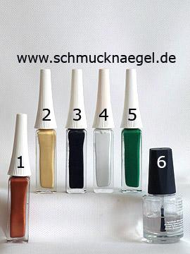 Produkte für das Motiv 'Vogelscheuche als Fingernagel Design' - Nailart Liner