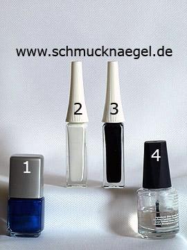 Produkte für das Design 'Kleiner Bär als Nailart Motiv' - Nagellack, Nailart Liner