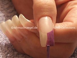 Nailart Pen in der Farbe lila