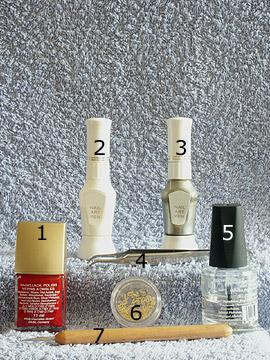Produkte für das Motiv mit Dollarzeichen - Nagellack, Einlegemotive, Nailart Pen, Klarlack