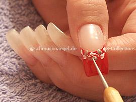 Spot-Swirl oder Zahnstocher