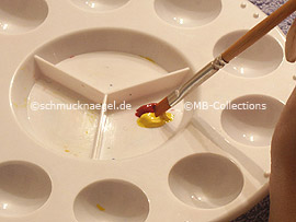 Flachpinsel (Nummer: 6)