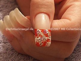 Pinzette und Nailart Shapes in Stern-Form