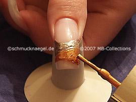 Nagellack in der Farbe Brown