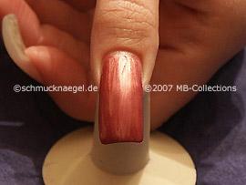Nagellack in der Farbe alt-rosa
