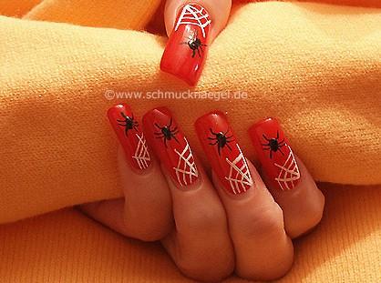 Spinnenmotiv für Halloween