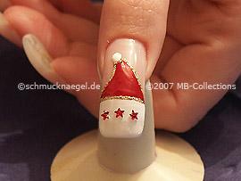 Weihnachtsmotiv 3 - Nailart Motiv 090