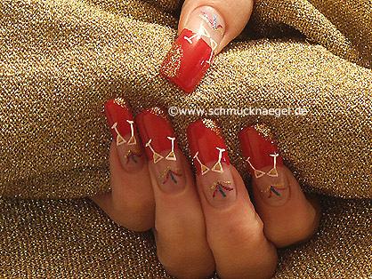 Silvester Nailart Motiv für Fingernägel