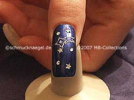 Sternenhimmel - Nailart Motiv 095