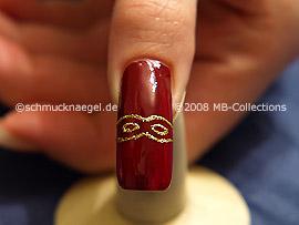Motivo de Carnaval 1: Nail Art Motivo 102