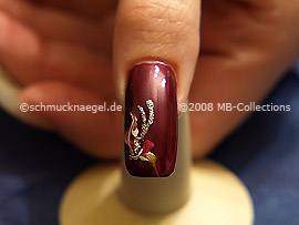 Nail Art Motivo 107