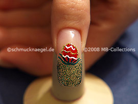 Motivo de pascua 1: Nail Art Motivo 109
