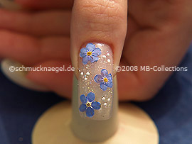 Nail Art Motivo 118